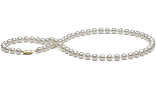 18-inch Akoya Pearl Necklace 6.5-7 mm AA+ or AAA