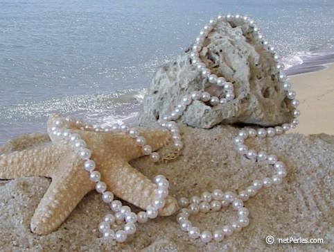 45-inch Akoya Pearl Necklace 6.5-7 mm AA+ or AAA