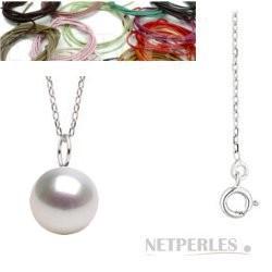 MIGNON Sterling Silver White South Sea Pearl Pendant