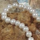 26-inch Freshwater Pearl Necklace, 7-8 mm, white