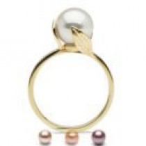 FEUILLE collection Freshadama Pearl Ring 8-9 mm