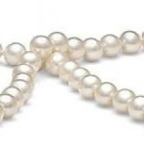 18-inch Freshwater Pearl Necklace, 6-7 mm, white