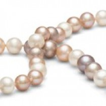 18-inch Freshwater Cultured Pearl Necklace 6-7 mm Multicolor