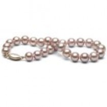 7-inch Lavender Freshadama Pearl Bracelet 7-8 mm