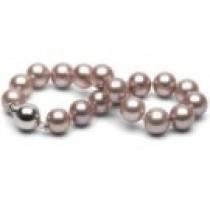 7-inch Lavender Freshadama Pearl Bracelet 8-9 mm