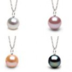 Freshwater Pearl Pendant MIGNON - Sterling Silver AAA