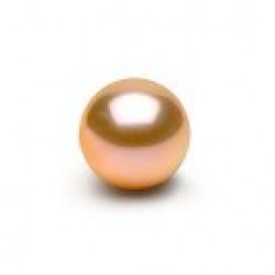 Loose Pink-to-peach Freshadama Pearl size from 6-7 mm