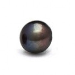 Loose Black Freshwater Pearl from 6-7 mm AAA