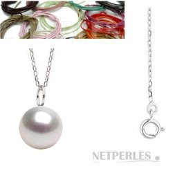 MIGNON Sterling Silver White South Sea Pearl Pendant