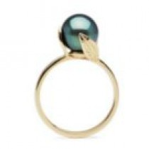 FEUILLE collection Tahitian Pearl Ring 8-9 mm