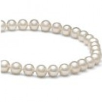 16-inch Freshwater Pearl Necklace, 6-7 mm, white