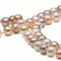 35-inch Freshwater Pearl Necklace, 6-7 mm, Multicolor