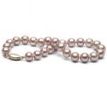 7-inch Lavender Freshadama Pearl Bracelet 6-7 mm