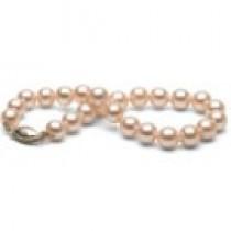 7-inch Pink to Peach Freshadama Pearl Bracelet 7-8 mm
