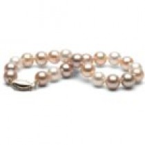 7-inch Multicolor Freshadama Pearl Bracelet 6-7 mm