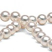 16-inch Akoya Pearl Necklace 7-7.5 mm white AA+ or AAA