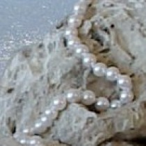 35-inch Akoya Pearl Necklace, 6-6.5 mm, white AA+ or AAA