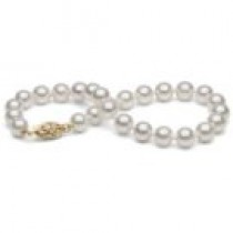 7-inch Cultured Akoya Pearl Bracelet 6-6.5 mm AA+ or AAA