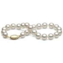 7-inch Cultured Akoya Pearl Bracelet 6.5-7 mm AA+ or AAA