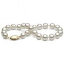 7-inch Cultured Akoya Pearl Bracelet 6.5-7 mm AA+ or AAA