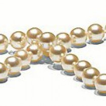 18-inch Rare Golden Akoya Pearl Necklace 7.5-8 mm AA+