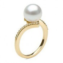 KARMA 9-10 mm White South Sea Pearl Ring