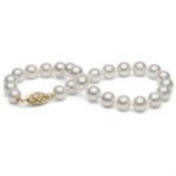 7-inch Cultured Akoya Pearl Bracelet 6-6.5 mm AA+ or AAA