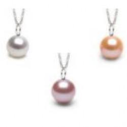 Freshadama Freshwater Pearl Pendant MIGNON Sterling Silver
