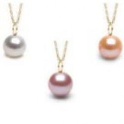 Freshadama Freshwater Pearl Pendant MIGNON -14K Gold