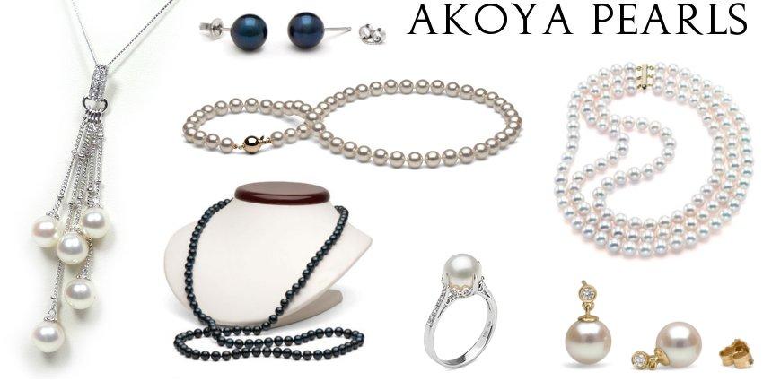 Saltwater Akoya Pearls
