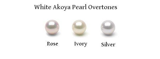 Akoya pearl overtones