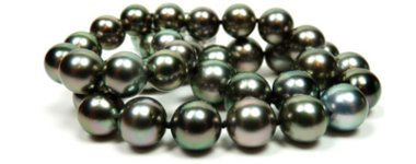 Black Tahitian Cultured pearls